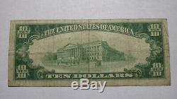 $ 10 1929 St. Louis Mo Missouri Banque Nationale Monnaie Note Bill Ch. # 12220 Fin