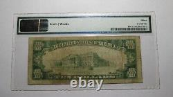 $10 1929 York Pennsylvania Pa National Currency Bank Note Bill Ch. #197 Fine 15