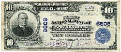 $ 10 Devise Nationale First National Bank Of St Marys À Leonardtown, MD