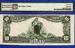 10 $ First National Bank Salem Ohio Chapitre 43 Monnaie Nationale Pmg 53