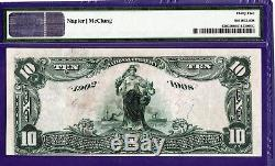 10 $ Minneapolis Minnesota 2006 Banque Nationale Nord-ouest Monnaie 620 Pmg 35