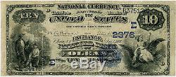 10 $ National Currency Exchange National Bank Of Olean Ny, Non Classé