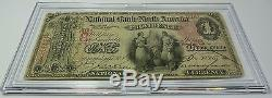 1875 $ 1 Banque Nationale Providence Rhode Island Ri Devise Us Item 5822f