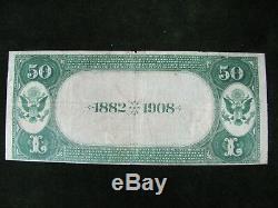 1882-1908 Banque Nationale De Youngstown, Oh, 50 $ 2e Devise De La Monnaie Nationale