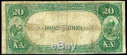 1882 $ 20 Première Banque Nationale De Mont Sterling, IL National Currency Ch. # 2402