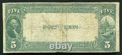 1882 $5 Db The First National Bank Of Addison, Ny National Currency Ch. #5178