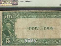 1882 Billet De 5 Dollars Du Fond Du Lac Wisconsin - Dollar National - Grande Devise 6015 Pmg