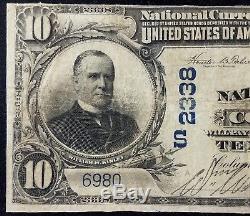 1902 10,00 $ Monnaie Nationale, Banque Nationale De Columbus, Géorgie