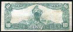 1902 10 $ Banque Nationale De Goldsboro, Nc National Currency Ch. #5048