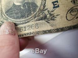 1902 $ 10 DIX Dollars Bourse Banque Nationale De Pittsburgh Pa Monnaie Remarque