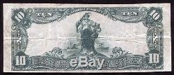 1902 10 $ La Première Banque Nationale De Clarion, Pa Monnaie Nationale Ch. # 774