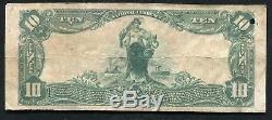 1902 10 $ La Première Banque Nationale De Grove City, Pennsylvanie Monnaie Ch. # 5044