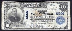 1902 10 $ La Première Banque Nationale De Hancock, Mn Monnaie Nationale Ch.