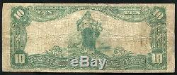 1902 10 $ La Première Banque Nationale De Williamson, Wv National Currency Ch. # 6830