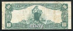 1902 10 $ La Quatrième Banque Nationale D'atlanta, Ga Monnaie Nationale Ch. #5045