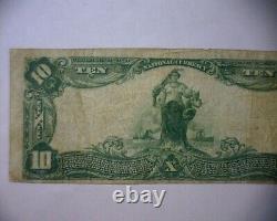1902 10 $ National Currency Bank Note, Seaboard National Bank Norfolk, Va