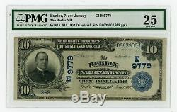 1902 10 $ Note Monnaie Nationale Banque Nationale De Berlin Fr # 619 Pmg Vf25