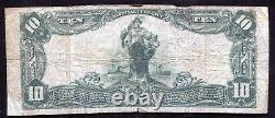 1902 $10 The Old National Bank Of Spokane, Wa Monnaie Nationale Ch. N°4668