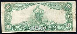 1902 $ 10 The Warren National Bank Of Warren, Pa National Currency Ch. # 4879