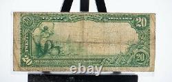 1902 20,00 $ Banque Nationale De Monnaie-allentown Pa Banque Nationale