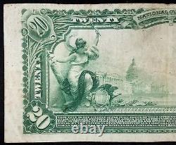 1902 $ 20,00 Dollars Nat'l Monnaie, La Banque Nationale Télégraphistes De Saint-louis