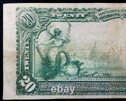 1902 $20.00 Monnaie Nationale, The American National Bank Of Ripon, Wisconsin