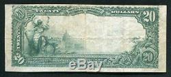 1902 20 $ La Marine Banque Nationale De Pittsburgh, Pennsylvanie National Monnaie Ch. # 2237