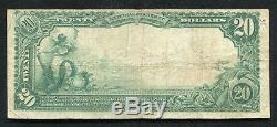1902 20 $ La Première Banque Nationale D'easton, Pa Monnaie Nationale Ch. # 1171