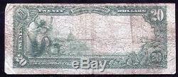 1902 20 $ La Première Banque Nationale De Duluth, Monnaie Nationale Ch. # 3626