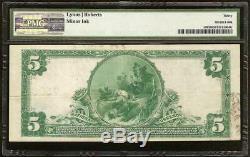 1902 $ 5 Dollar Billet De La Banque Nationale Du Maine À Belfast - Monnaie Grande