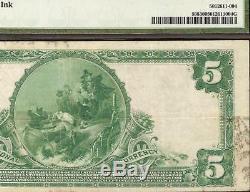1902 $ 5 Dollar City Banque Nationale De Belfast Billet De Monnaie En Monnaie Pmg 30