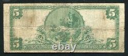 1902 5 $ La Banque Nationale De L'union De Mckeesport, Pa National Monnaie Ch. # 7559
