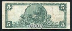 1902 $5 The National City Bank Of St. Louis, Mo Monnaie Nationale Ch. #11989 Vf+