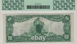 1902 Pb 10 $ Otoe National Bank Nebraska City Billets Devise Pcgs C Cu 64