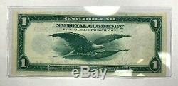 1918 $ 1 En Monnaie Nationale Réserve Fédérale Américaine Chicago Fr-727 Nice Xf