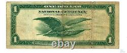 1918 $1 Federal Reserve Bank Note Chicago Fr 728 Monnaie Nationale