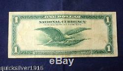 1918 $ 1 Monnaie Nationale La Banque De Réserve Fédérale De New York (star) Note