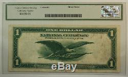 1918 $ 1 One Dollar Federal Reserve Bank De Chicago Monnaie Nationale Héritage Vf-25
