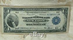 1918 $ 1 Un Dollar Monnaie Nationale, La Federal Reserve Bank De New York