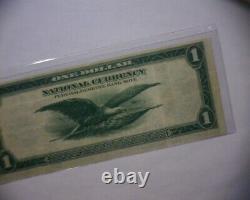 1918 Un Dollar 1 Monnaie Nationale Réserve Fédérale Bank $ Note Philadelphie, Pa