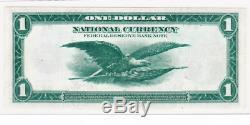 1918 Us $ 1 Us Billet De La Réserve Fédérale De New York Monnaie Nationale, Green Eagle