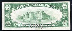 1929 10 $ 1er Nat. Trust & Sav. Bank San Diego, Ca Monnaie Nationale Ch. # 3050