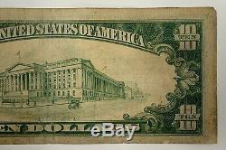 1929 10 $ Banque Nationale Monnaie 5131 De Union City Pennsylvania