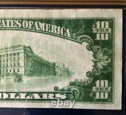 1929 $10 Billet De Banque En Monnaie Nationale First Wisconsin National Bank Of Milwaukee