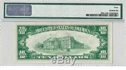 1929 $ 10 Boston Massachusetts Federal Reserve Bank Note Brown Monnaie Nationale
