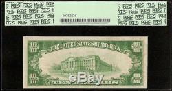 1929 10 Dollars Us Honolulu Hawaii Bishop Premier Billet De Banque Nationale Monnaie Pcgs 25