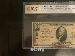 1929 $10 First National Bank Of Mercedes Texas National Currency Pcgs Vf 20