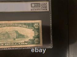 1929 $10 La Première Banque Nationale De Mercedes Texas Rare Monnaie Nationale