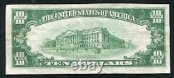 1929 $10 La Première Banque Nationale De Nashwauk, Mn Monnaie Nationale Ch. #10736
