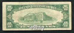 1929 10 $ Le Du Bois Banque Nationale Du Bois, Pa Monnaie Nationale Ch. # 7453